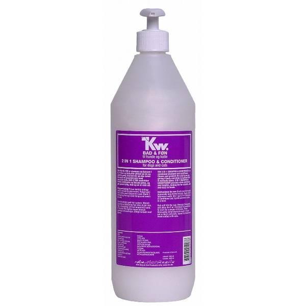 Bilde av KW 2 i 1 (Bad og Føn) Shampo 1000 ml