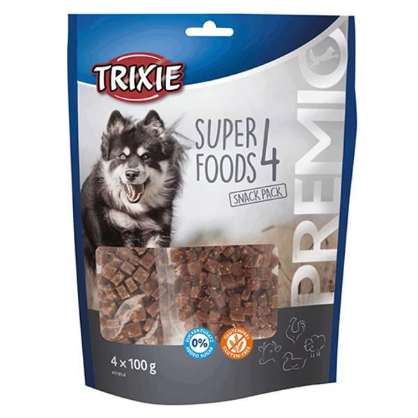 Bilde av Trixie Premio SuperFoods4 Snackpack 4x100g