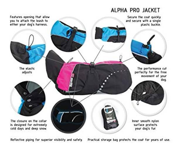 Bilde av Non-stop alpha pro varme dekken 24-80cm blå