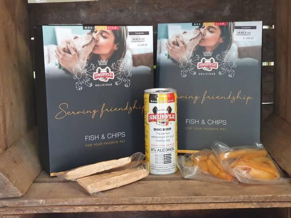 Bilde av Fish&chips i gaveeske