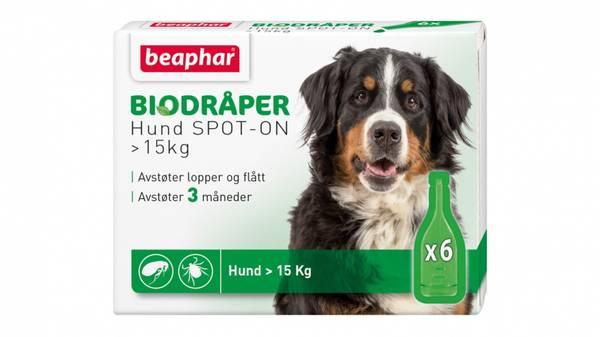 Bilde av Beaphar bio-dråper stor hund