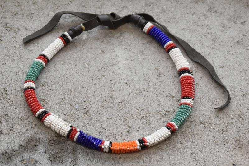 Bilde av Olkelai multifarget Maasaismykke