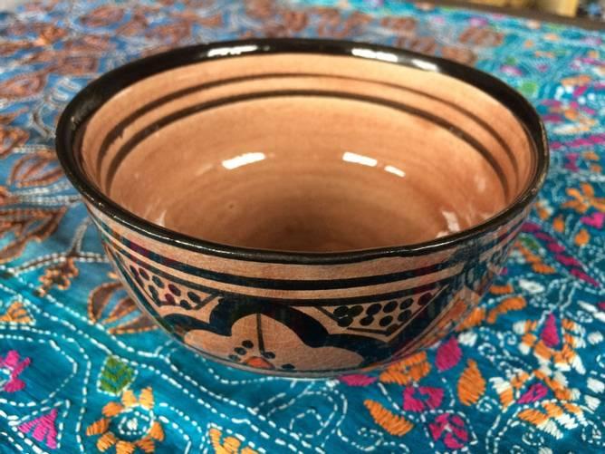 Bilde av Brun marokkansk keramikkbolle