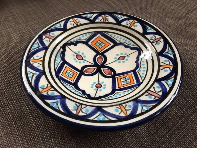 Bilde av Marokkansk keramikkfat 18 cm,