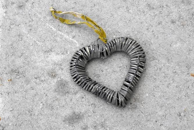 Bilde av Hjerte i metall