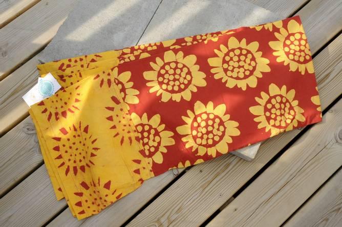 Bilde av Batikkfarget bomullsduk
