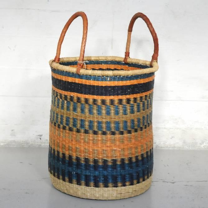 Bilde av Ghana skittentøyskurv medium