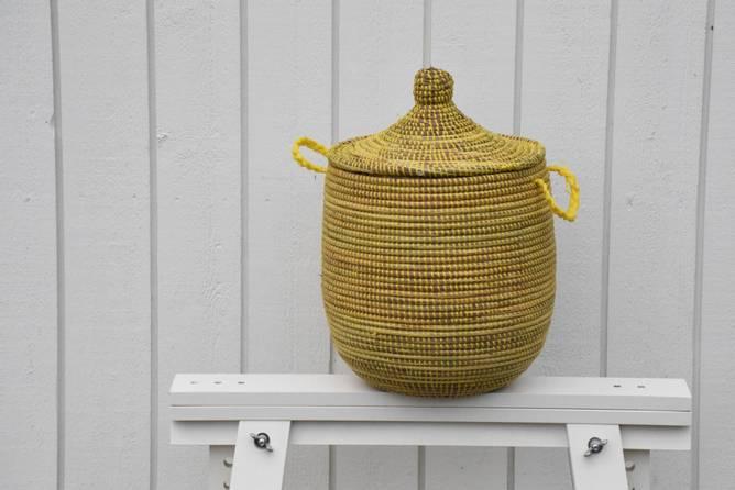 Bilde av Senegalkurv gul S