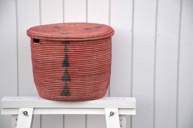 Bilde av Senegalkurv rød/svart