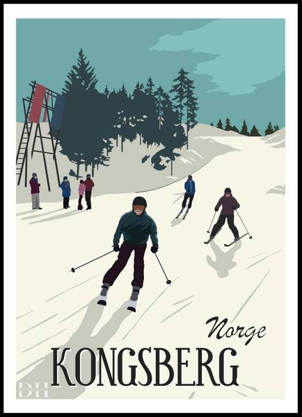 Bilde av Poster - Kongsberg