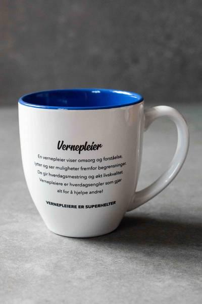 Bilde av Kopp - Vernepleier SUPERHELT 20cl