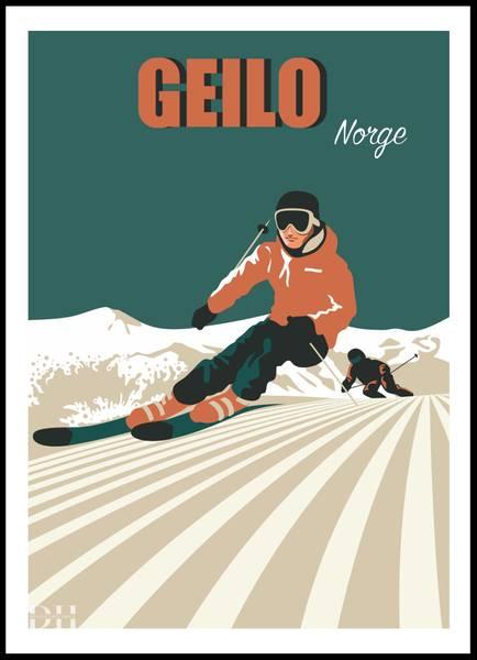 Bilde av Poster - Geilo