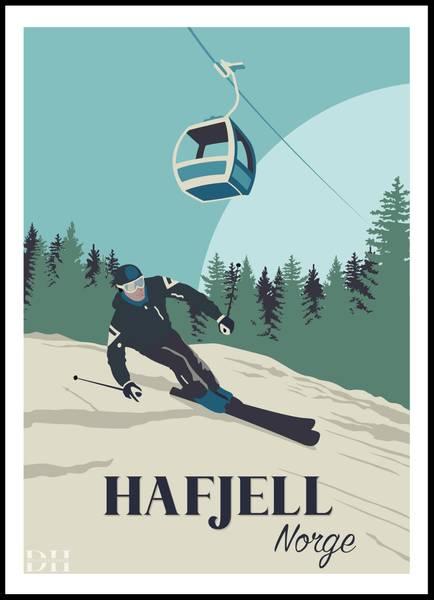 Bilde av Poster - Hafjell