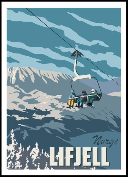 Bilde av Poster - Lifjell