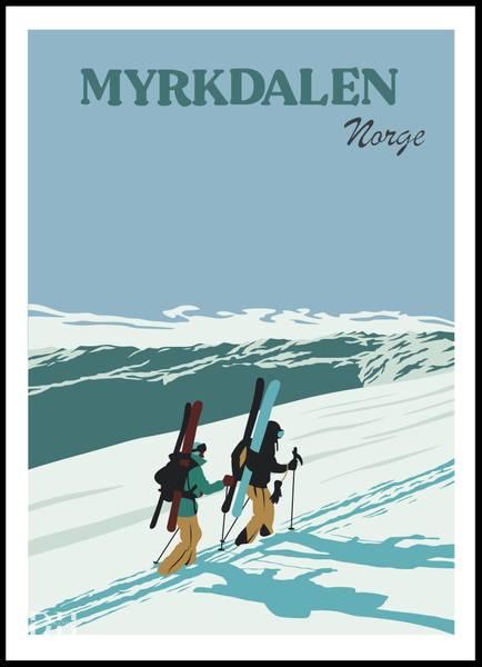 Bilde av Poster - Myrkdalen