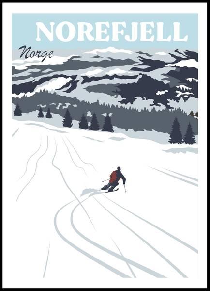 Bilde av Poster - Norefjell