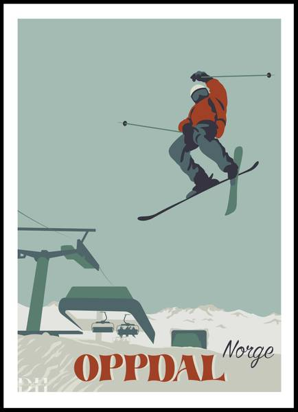 Bilde av Poster - Oppdal