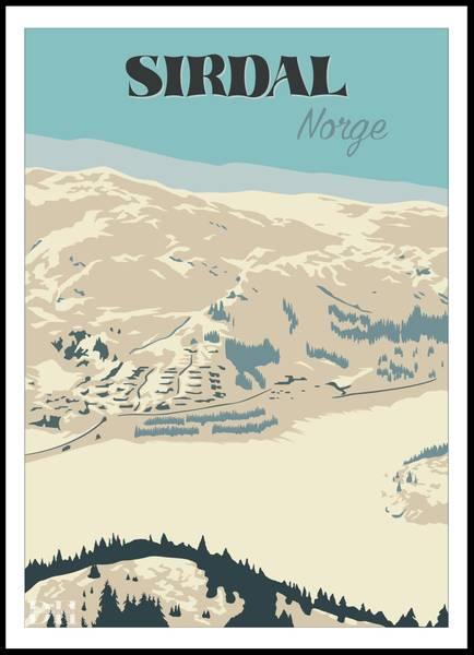 Bilde av Poster - Sirdal