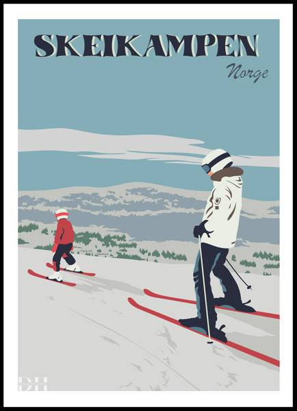Bilde av Poster - Skeikampen