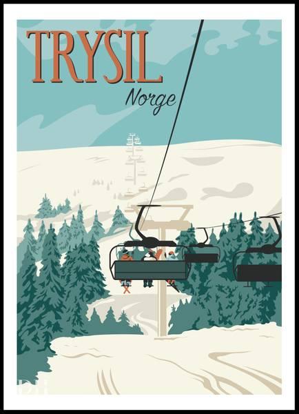 Bilde av Poster - Trysil