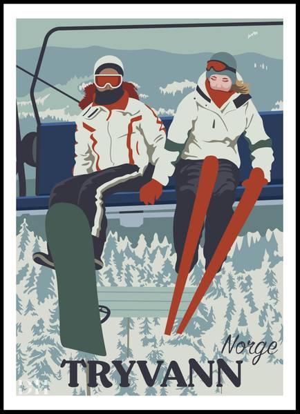 Bilde av Poster - Tryvann
