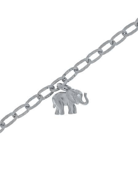 Bilde av Gulldia Lykkeelefant armbånd sølv 250460