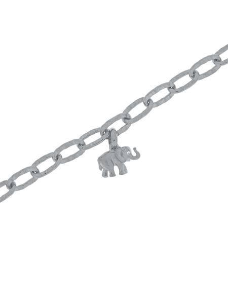 Bilde av Gulldia Lykkeelefanten armbånd sølv 250459