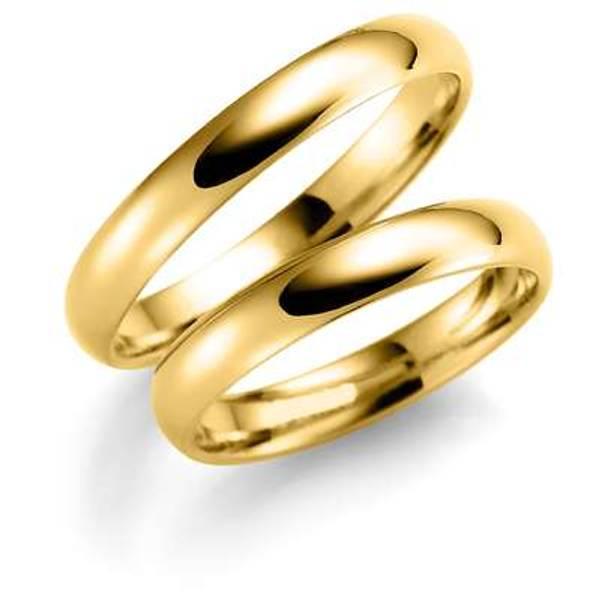 Bilde av Deg&Meg ring 585 gultgull 3,5mm SE103GU35 pris per stk