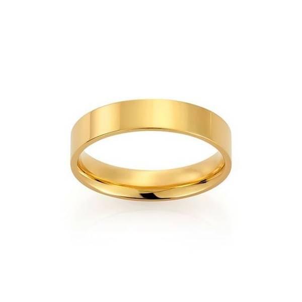 Bilde av Emotions ring gult gull 5mm 2289505 pris pr stk