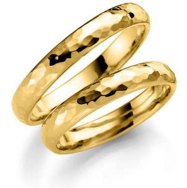 Bilde av Deg&Meg ring 585 gultgull 3,5mm SE121GU35 pris per stk
