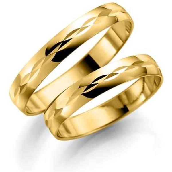 Bilde av Deg&Meg ring 585 gultgull 3,5mm SE122GU35 pris per stk