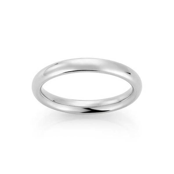 Bilde av Emotions ring hvitt gull 3,5 mm 129027 pris pr stk