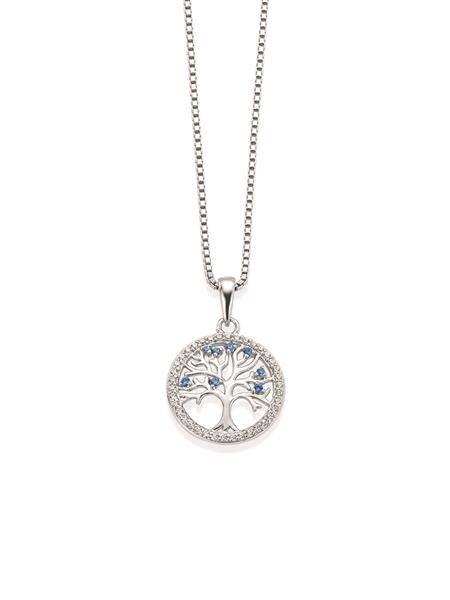 Bilde av Gulldia Livets tre smykke sølv
