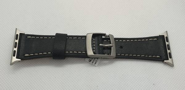 Bilde av Condor skinn rem Apple watch 42mm sort AWL42001