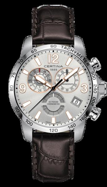 Bilde av Certina DS Podium Chronograph GMT Herreklokke