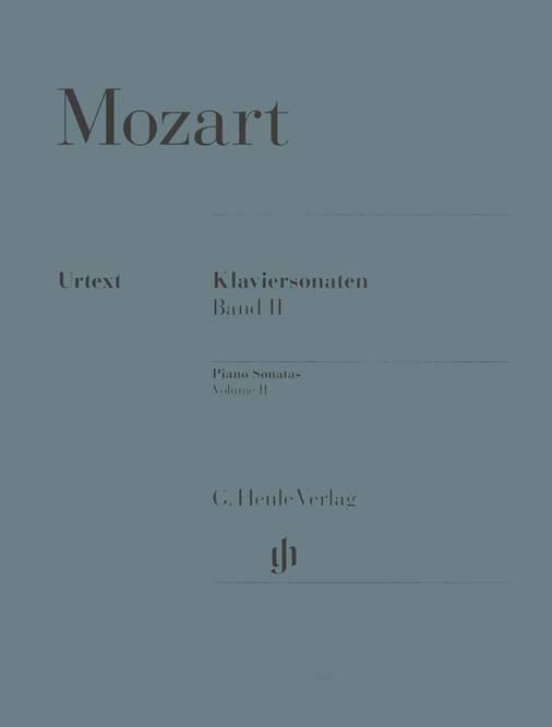Bilde av MOZART: Klaviersonaten Band II