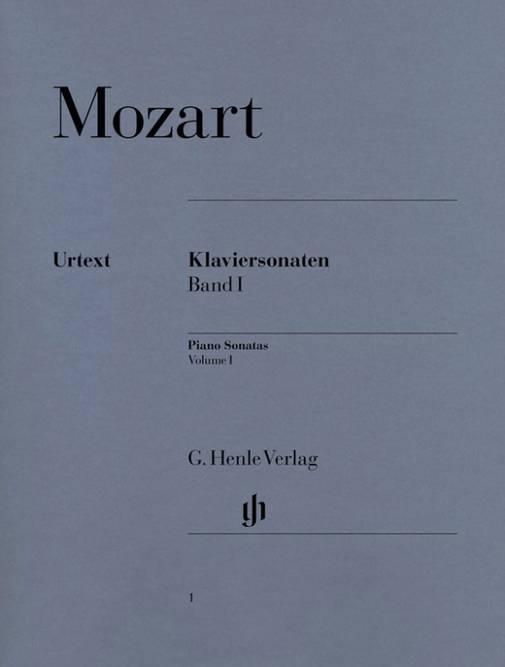 Bilde av MOZART: Klaviersonaten Band I