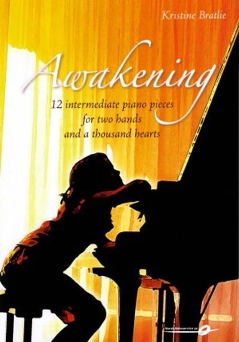 Bilde av Awakening - 12 intermediate piano pieces Kristine Bratlie