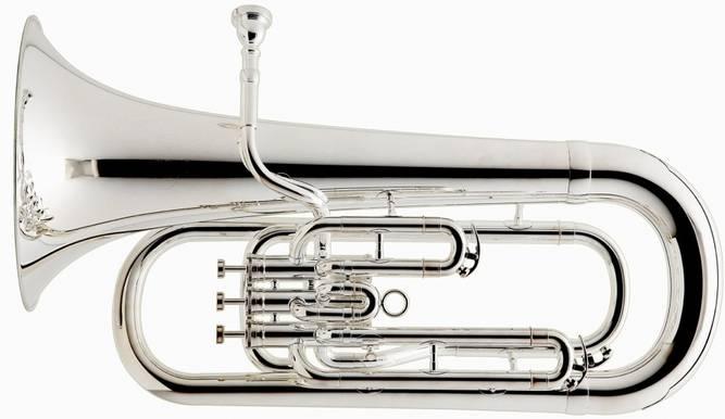 Bilde av Besson BE-162 Euphonium forsølvet