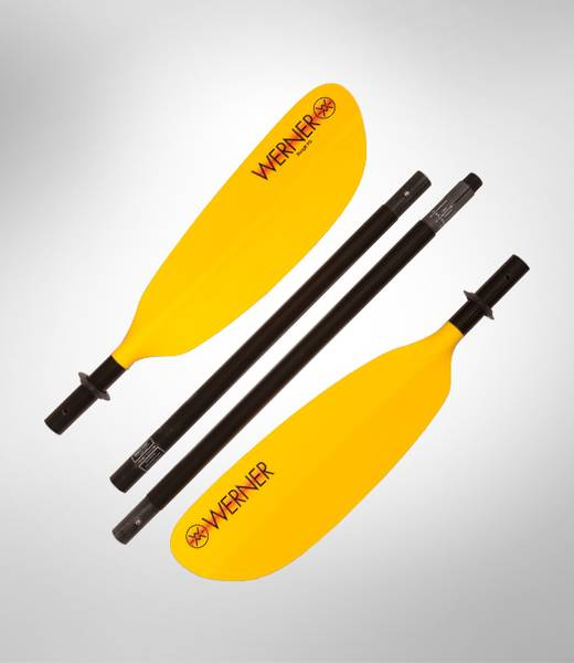 Werner Skagit FG - 4-delt  Padleåre - Pack Raft