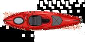 Fiske-Rekreasjons kajakk