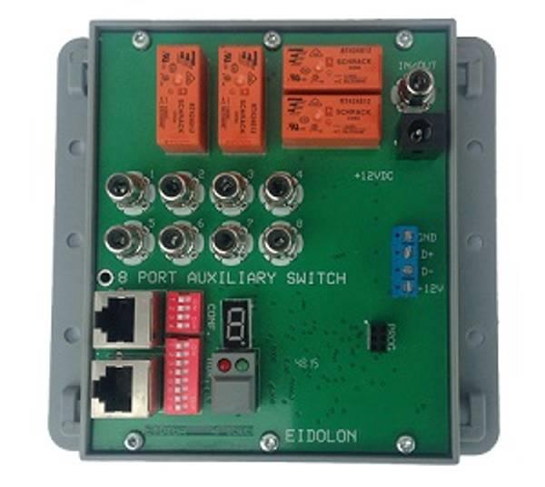 EID18 Fjernstyrt 8x Switch for Audio & PTT