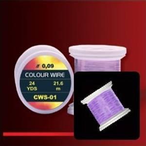 Bilde av Color Wire Tinsel 0.18mm 18 purple