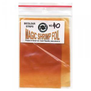 Bilde av Magic Shrimp Foil Bicolor 40 orange / red brown