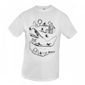 Bilde av T-shirt landscape white