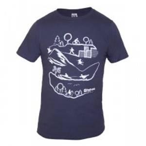 Bilde av T-shirt Landscape blue