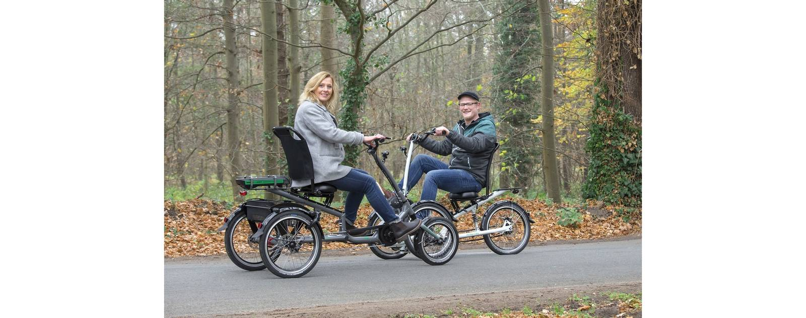 trehjul tohjul elsykkel Pfiff spesialsykkel Scoobo Bosch 500 wh batteri