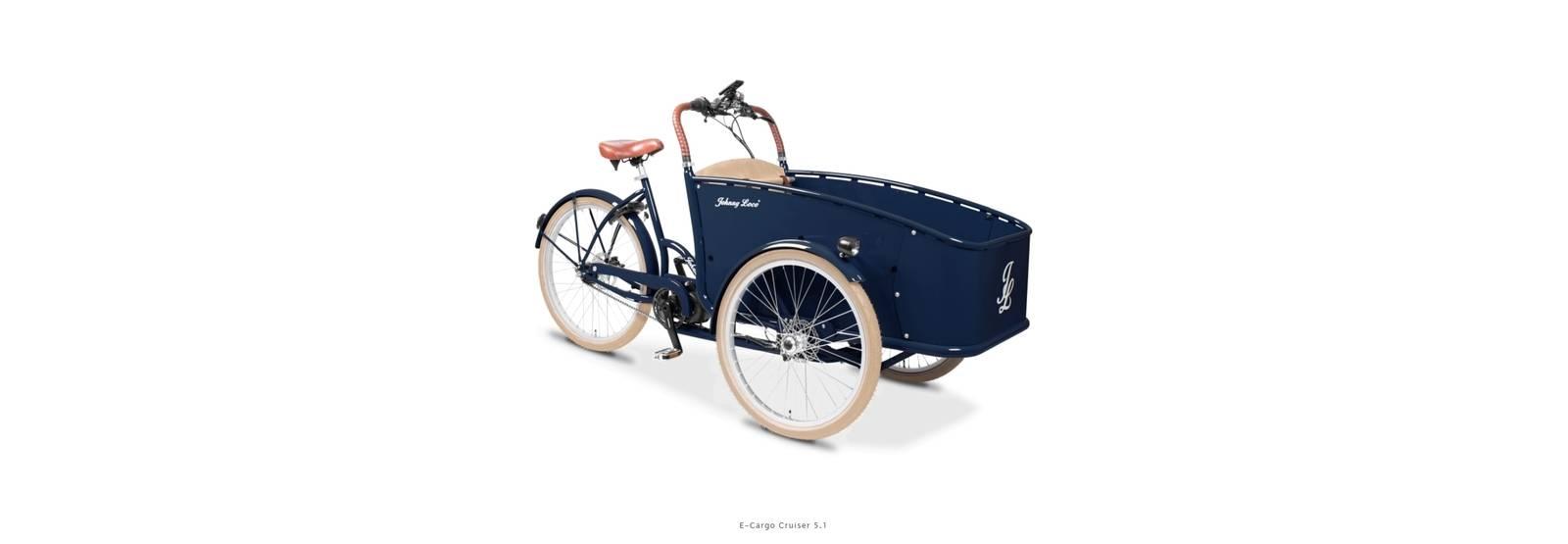 Johnny Loco Cargo transport el sykkel