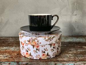 Bilde av Sort kopp & skål