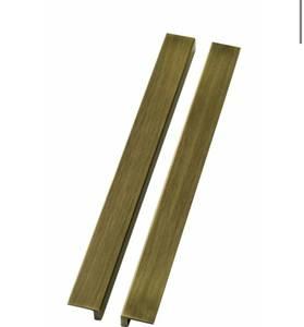 Bilde av Gull håndtak til stockholm vitrineskap